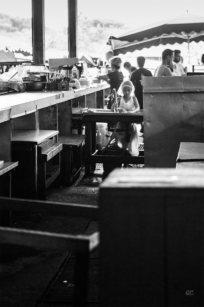 Gaëlle - L'enfant au marché